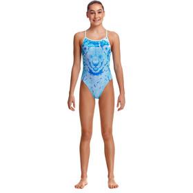 Funkita Single Strap Swimsuit Girls, azul